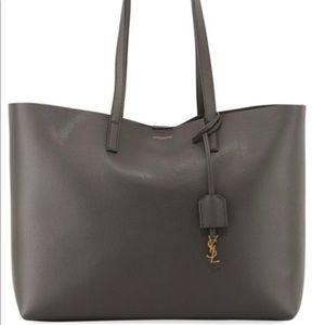 Saint Laurent tote bag gray